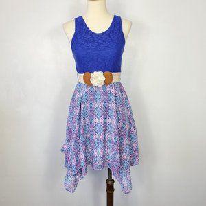 Emily West Girls Belted Sleeveless Dress, 12